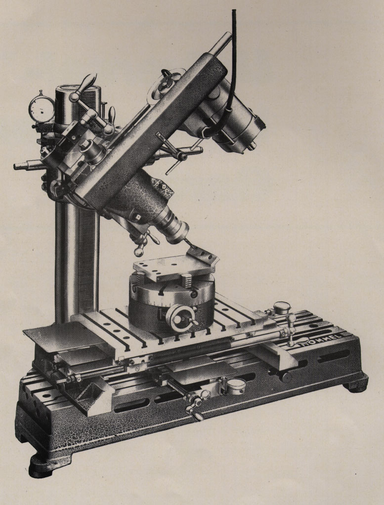 Hommel werkzeugmaschinen